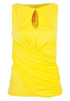 Blusa Slim Coca-Cola Justa Conic Amarela - Coca Cola Clothin...