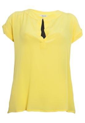 Blusa Mares Pequim Amarela - Mares M&Guia