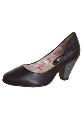 Sapato Scarpin Bottero Salto Médio Básico Preto