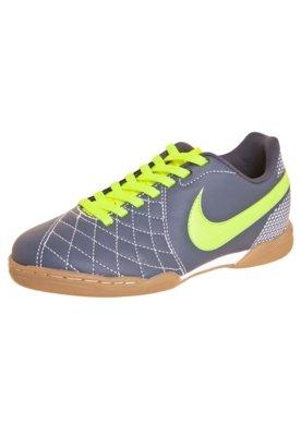 Chuteira Futsal Infantil Nike Jr Flare Ic Armry Cinza