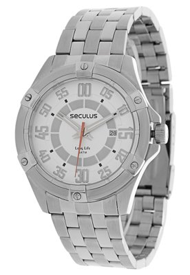 Relógio Seculus 20056G0SPNA1 Prata