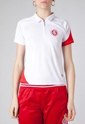 Camisa Polo Licenciados Futebol Dry Internacional Branca