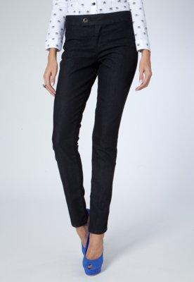 Calça Jeans Jegging Class Preta - Sacada
