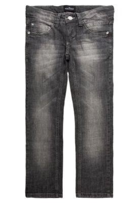 Calça Jeans Banana Danger Skinny New Cinza