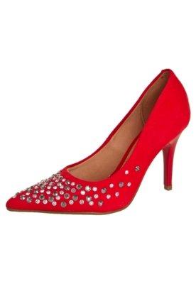 Sapato Scarpin Vizzano Hotfix Frente Vermelho