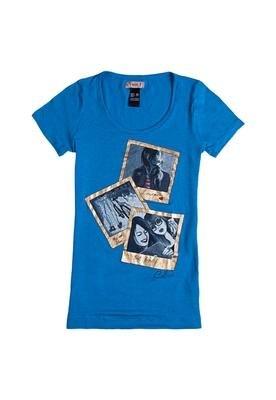 Blusa Longer Girls Azul - Colcci T