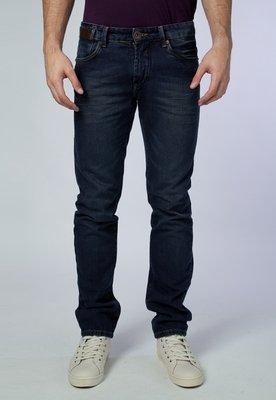 Calça Jeans Reta Deep Azul - Lucca Salvatore
