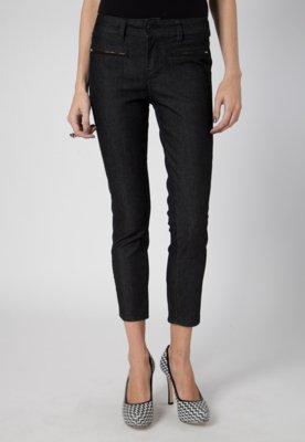 Calça Jeans Pink Connection Unic Preta