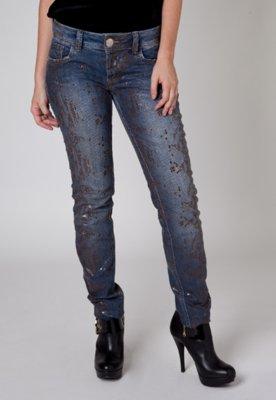 Calça Jeans Colcci Sexy Textura Azul