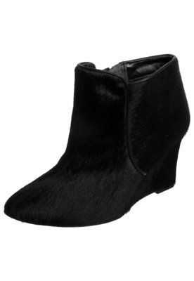 Ankle Boot My Shoes Pelo Preta