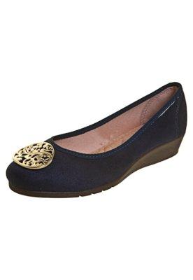 Sapato Scarpin Moleca Anabelinha Azul