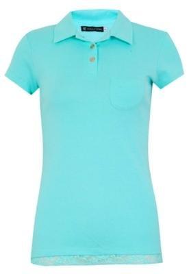 Camisa Polo Anna Flynn Femine Azul