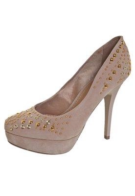 Sapato Scarpin FiveBlu Tachas Nude