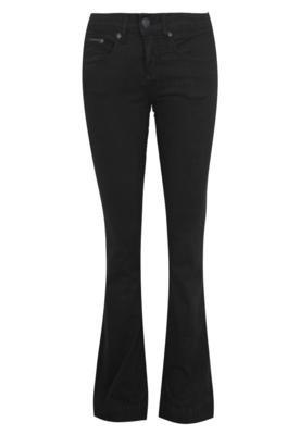 Calça Jeans Calvin Klein Jeans Boca de Sino Super Preta