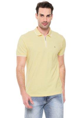 Menor preço em Camisa Polo Aramis Reta Zíper Amarela