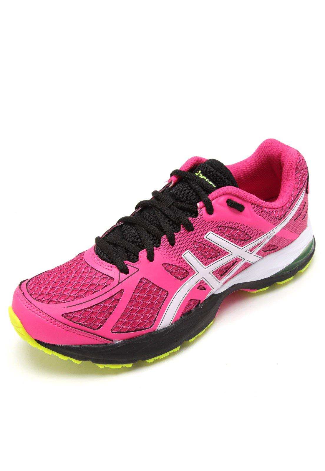 tenis asics feminino tamanho 40 rosa