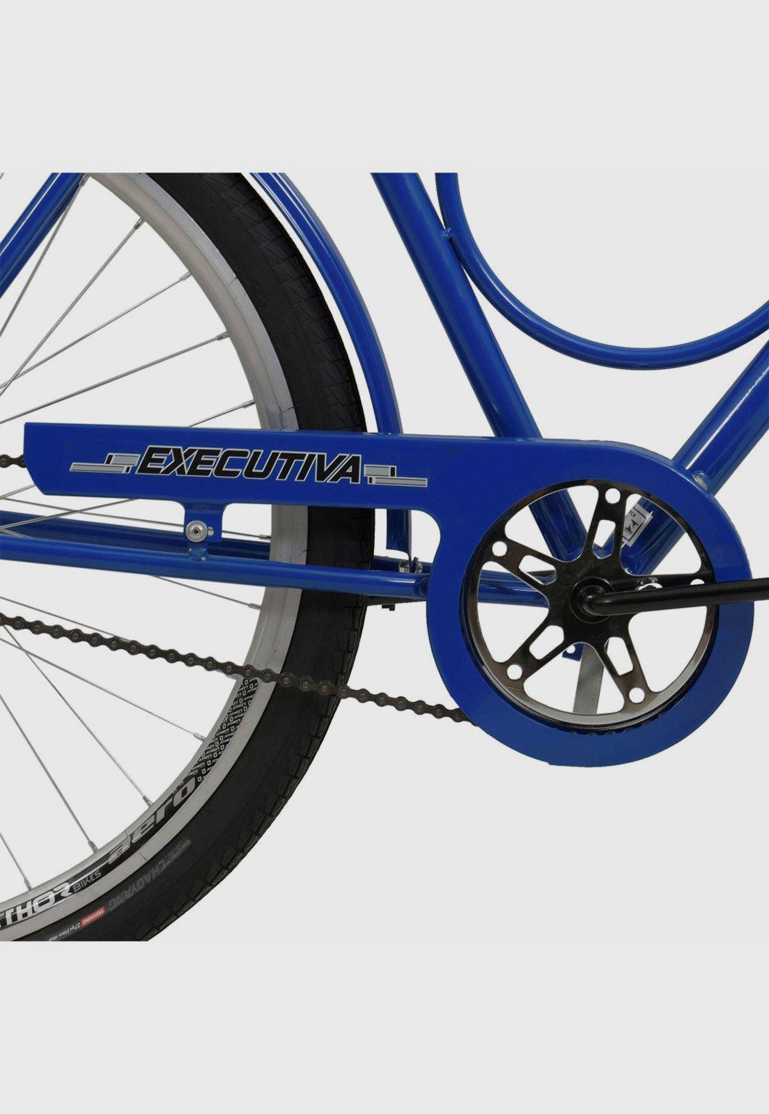 Bicicleta Aro 26 Exec. C/ Pedal Azul Athor Bikes - Compre Agora