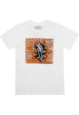 Camiseta Blunt Menino Frontal Branca