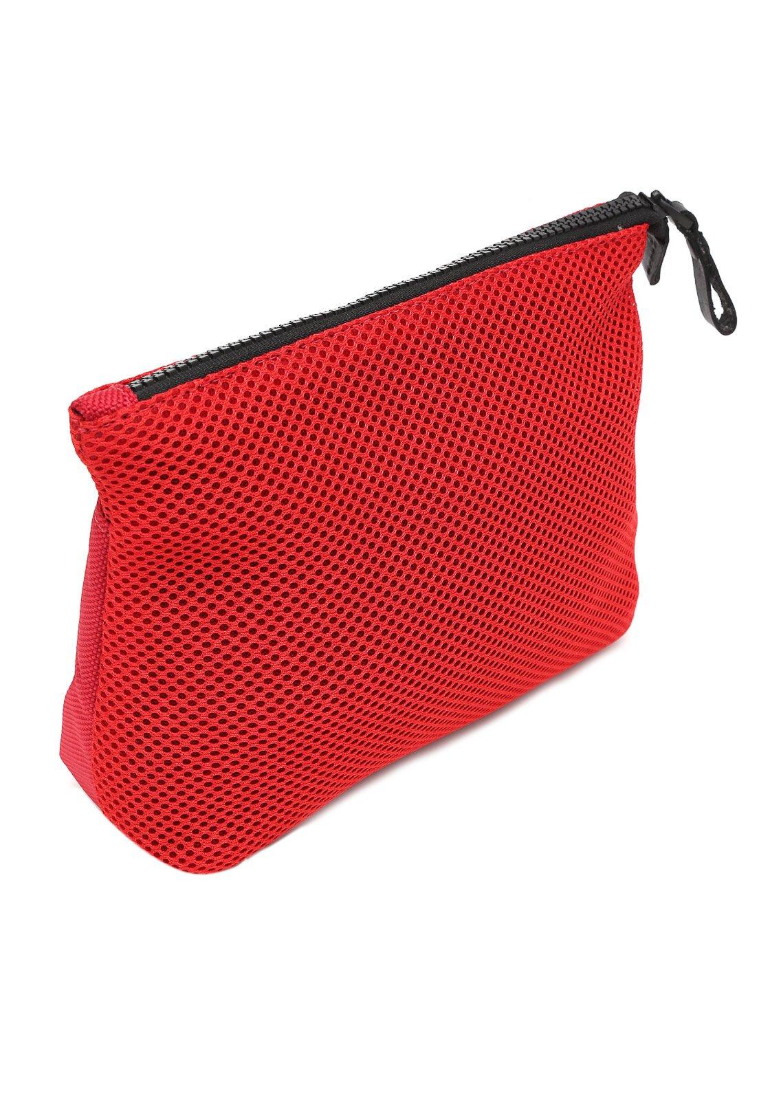 Necessaire Calvin Klein Recortes Vermelha - Compre Agora