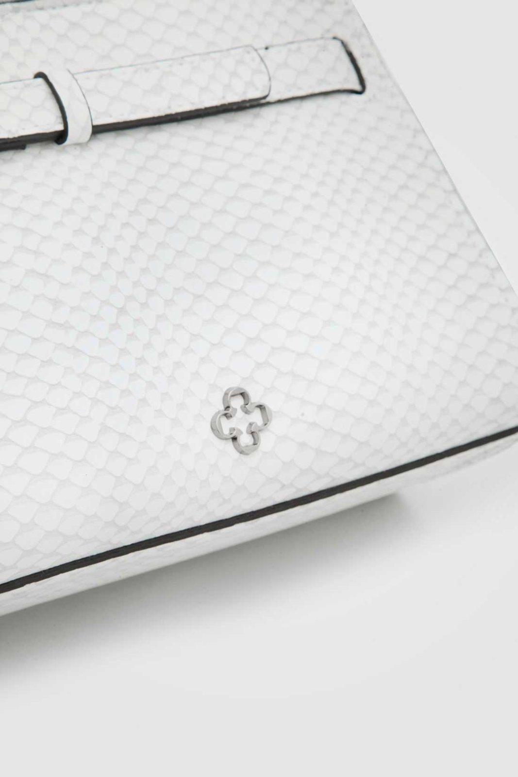 Bolsa Couro Capodarte Cobra Branca - Compre Agora