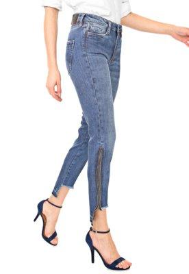 Calça Jeans Carmim Skinny Cropped Windsor Azul