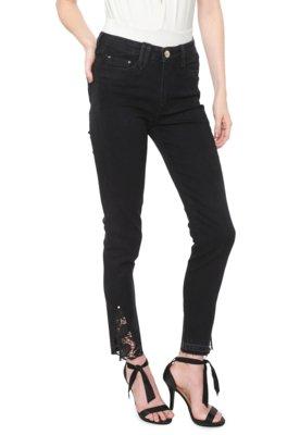 Menor preço em Calça Jeans Carmim Skinny Manhattan Preta