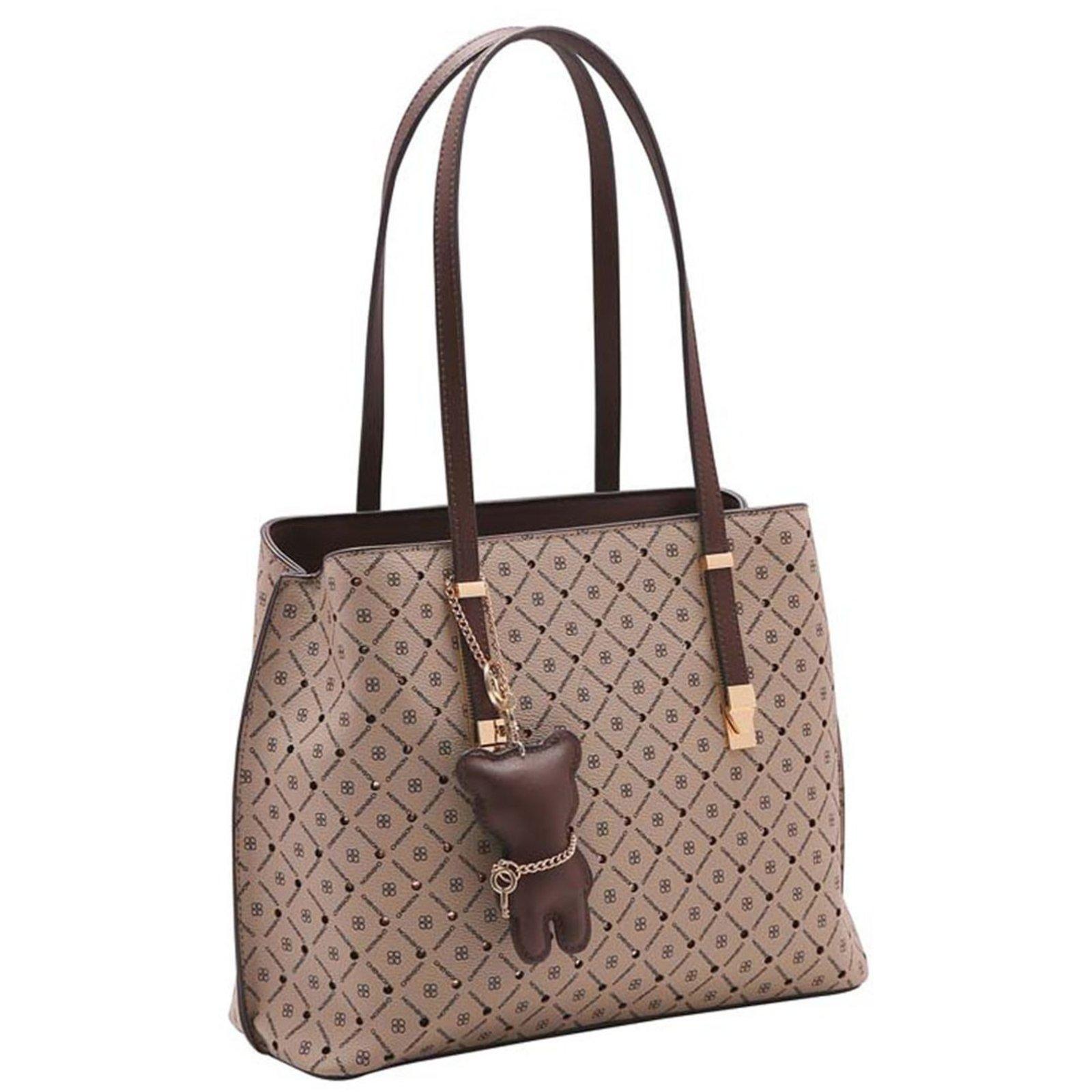 Bolsa Feminina Monograma Star De Ombro 3483296 Compre Agora Dafiti Brasil