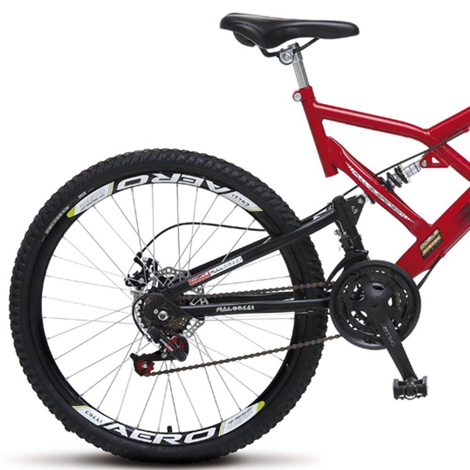 Bicicleta Colli Bikes Aro 26 Freio a Disco Vermelho - Compre Agora