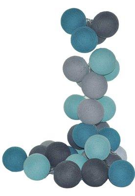 Menor preço em Fio De Luz Vancouver Kit 20 Bolas 220v Cormilu Azul