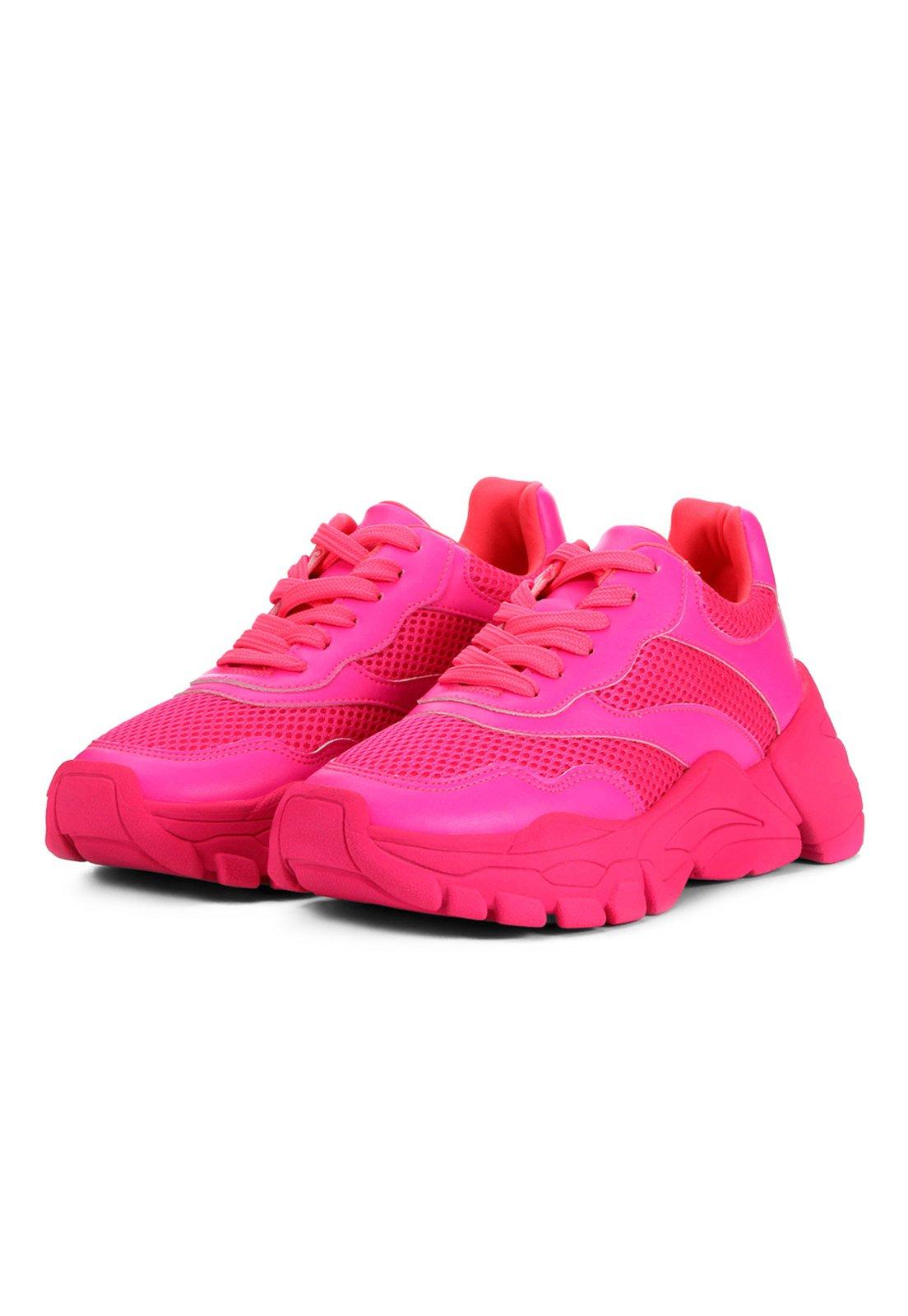 Chunky Doris Damannu Shoes Pink Neon