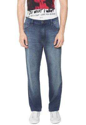 Menor preço em Calça Jeans Ellus Reta Elastic Azul