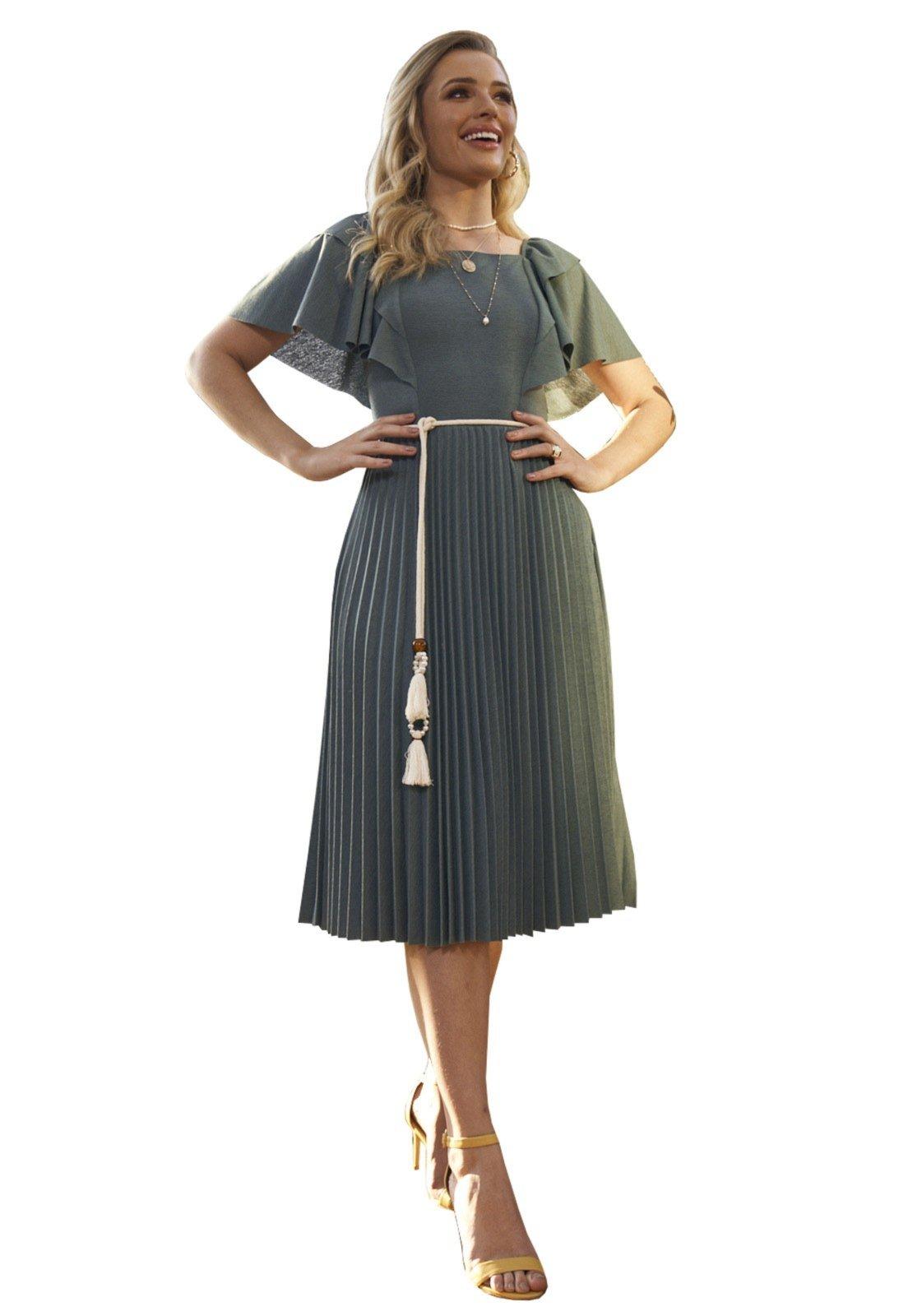 Vestido Fascinius Hilary Verde - Marca Fasciniu's