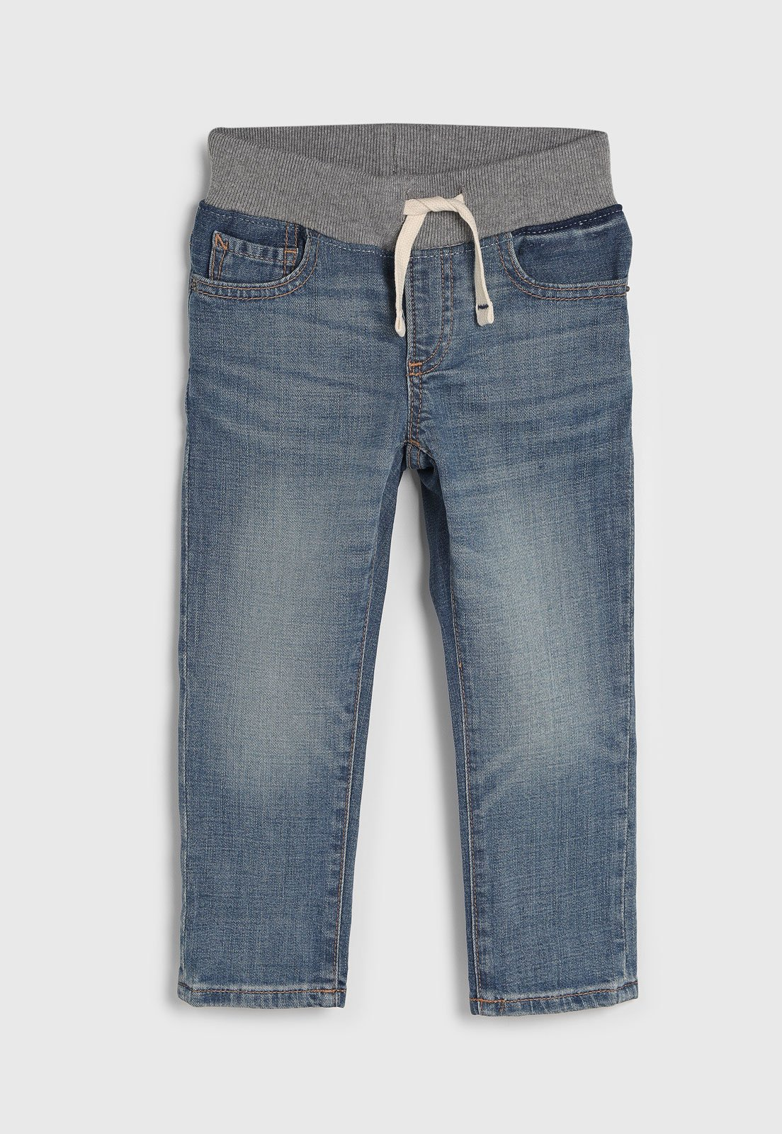 Calca Jeans Gap Infantil Jogger Estonada Azul Compre Agora Tricae Brasil