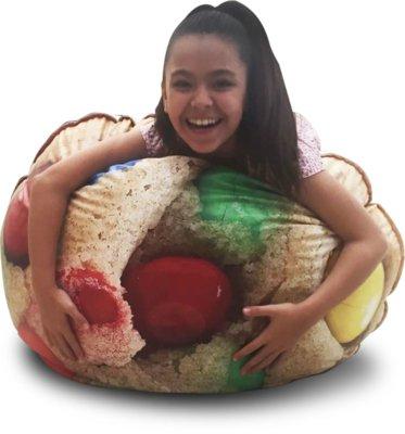 Menor preço em Pufe Ball Cookie - puff