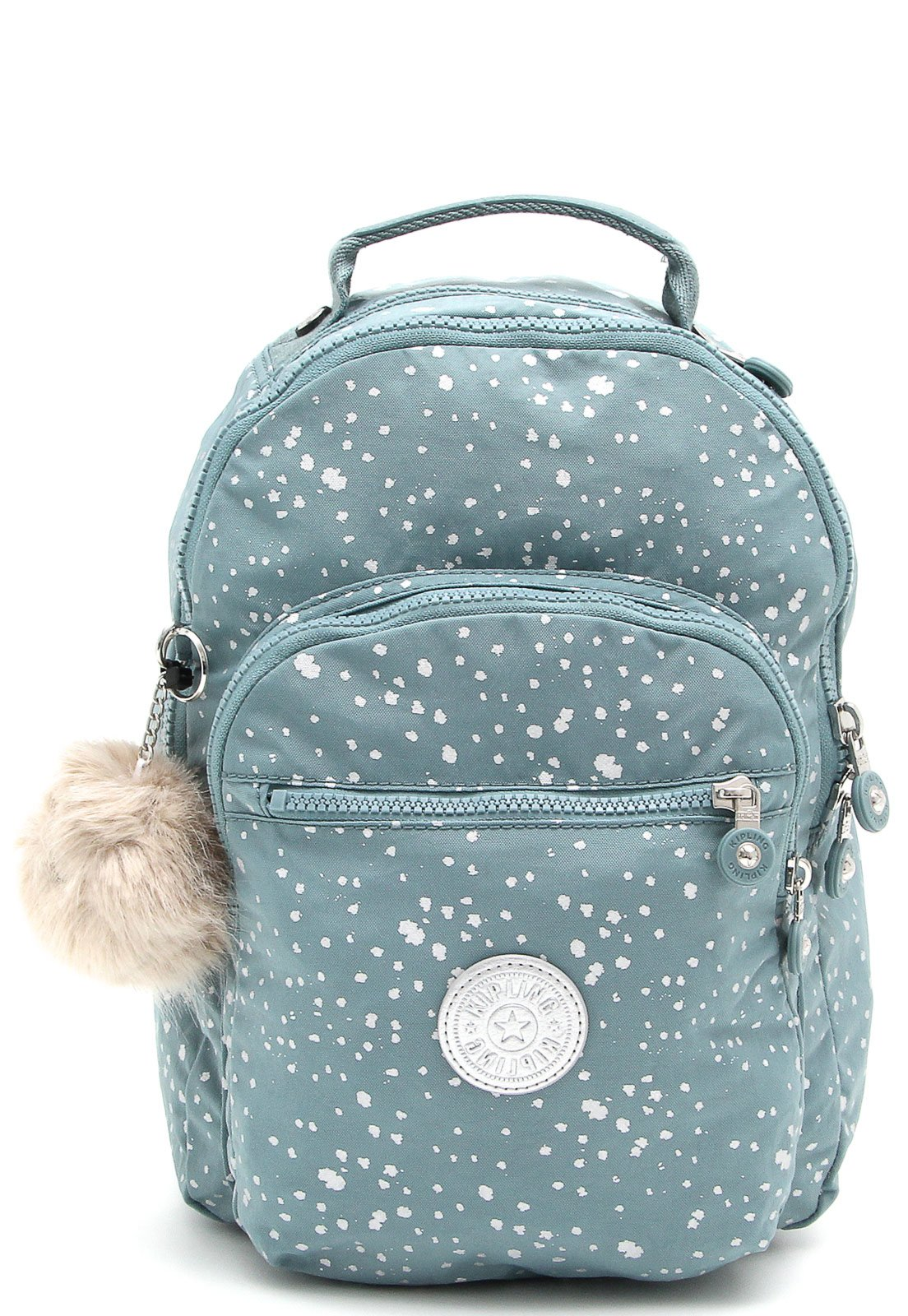 expandir sobrina A menudo hablado  Mochila Kipling Backpacks Clas Seoul S Sky_72 Azul - Compre Agora | Tricae  Brasil