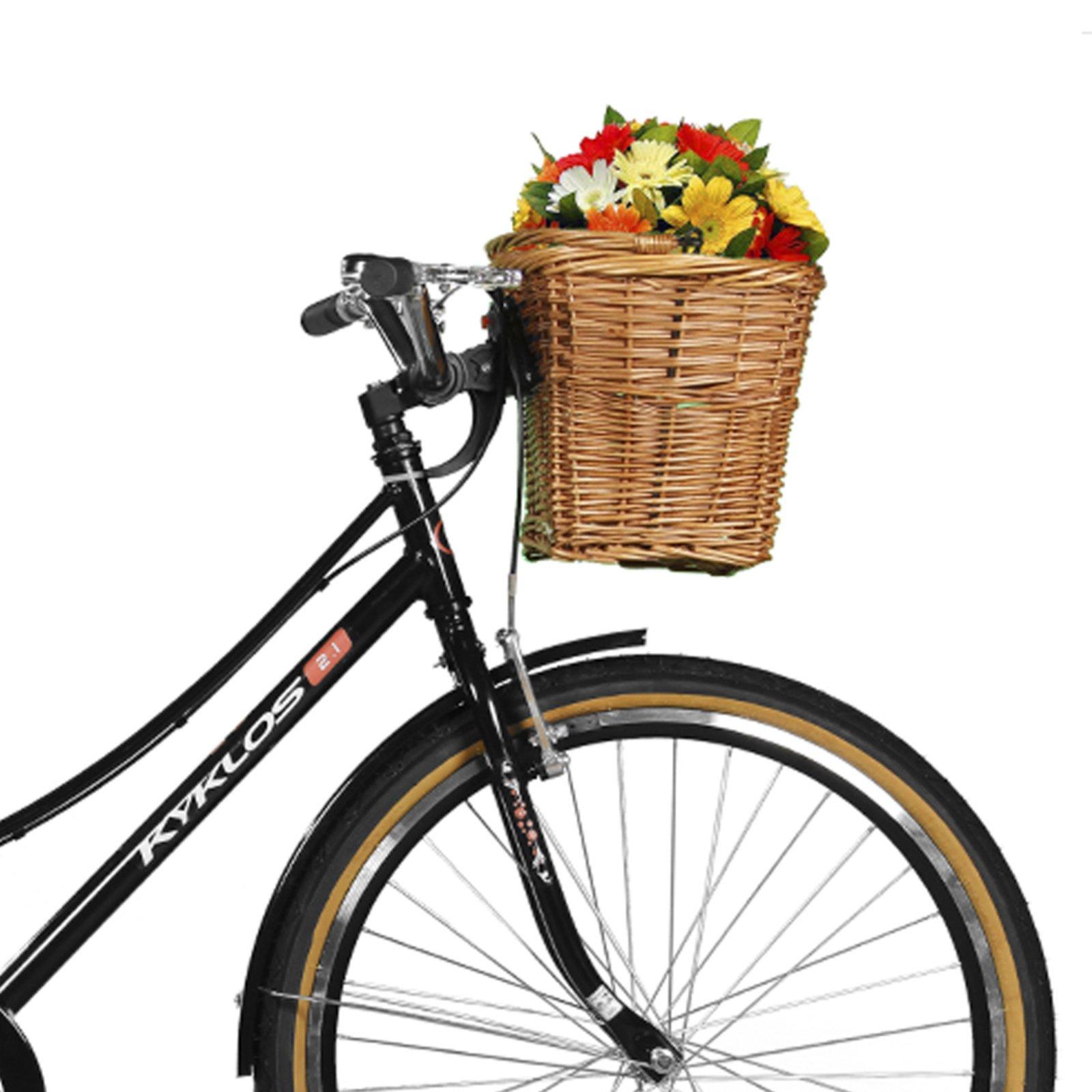 Bicicleta Kyklos Aro 26 Jolie 2.1 com Bagageiro Preto - Compre Agora