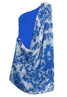 Vestido Lança Perfume Sobreposição Floral - Compre Agora