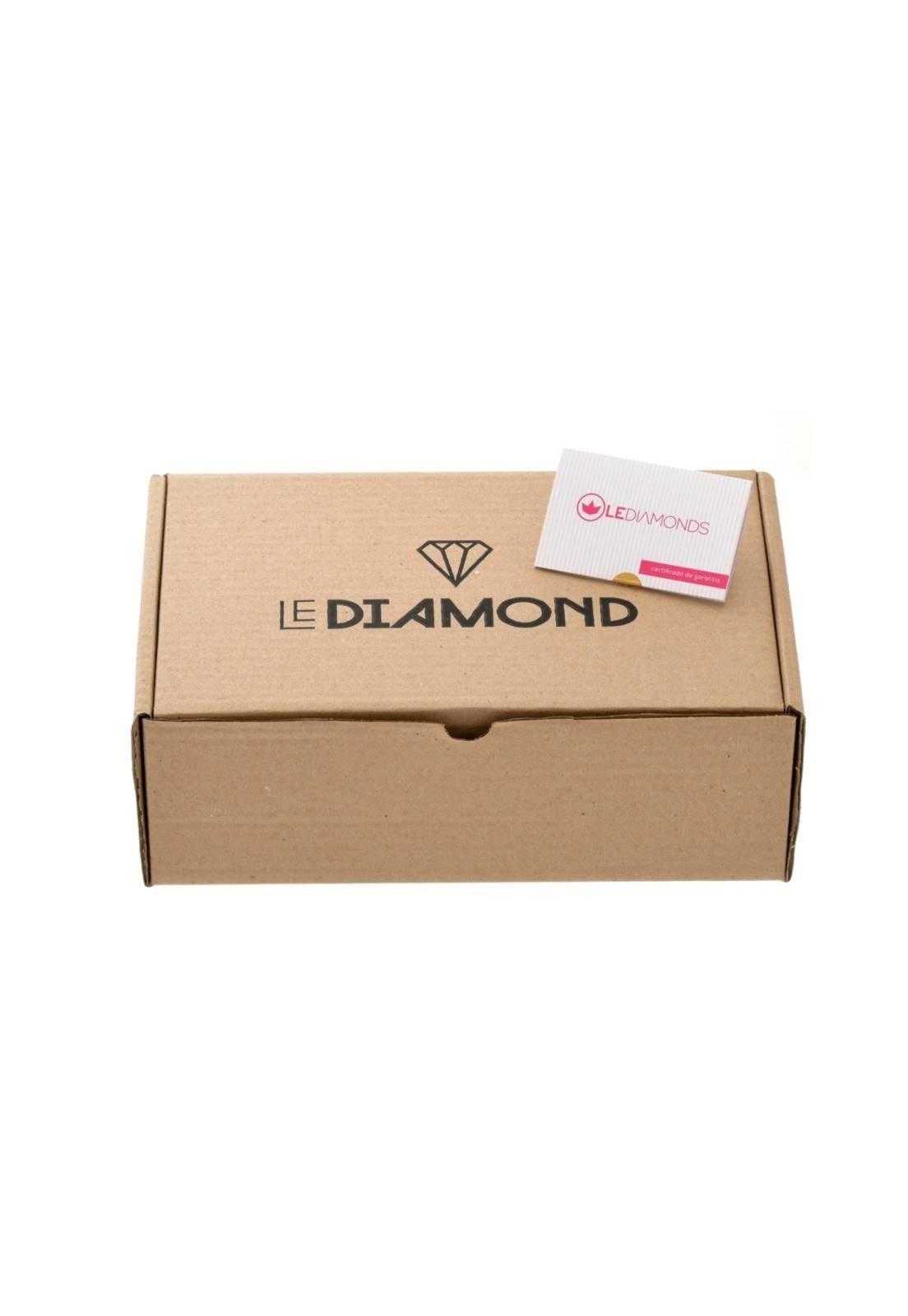 Argola Le Diamond Fios Pink - Compre Agora