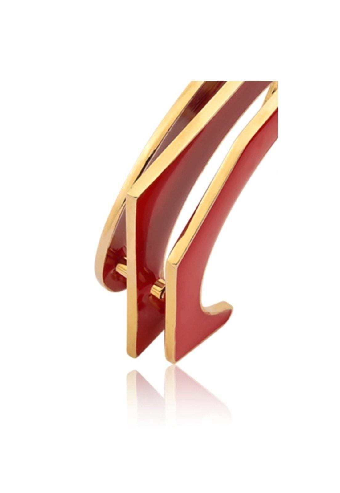 Bracelete Esmaltado Le Diamond Marsala - Marca Le Diamond