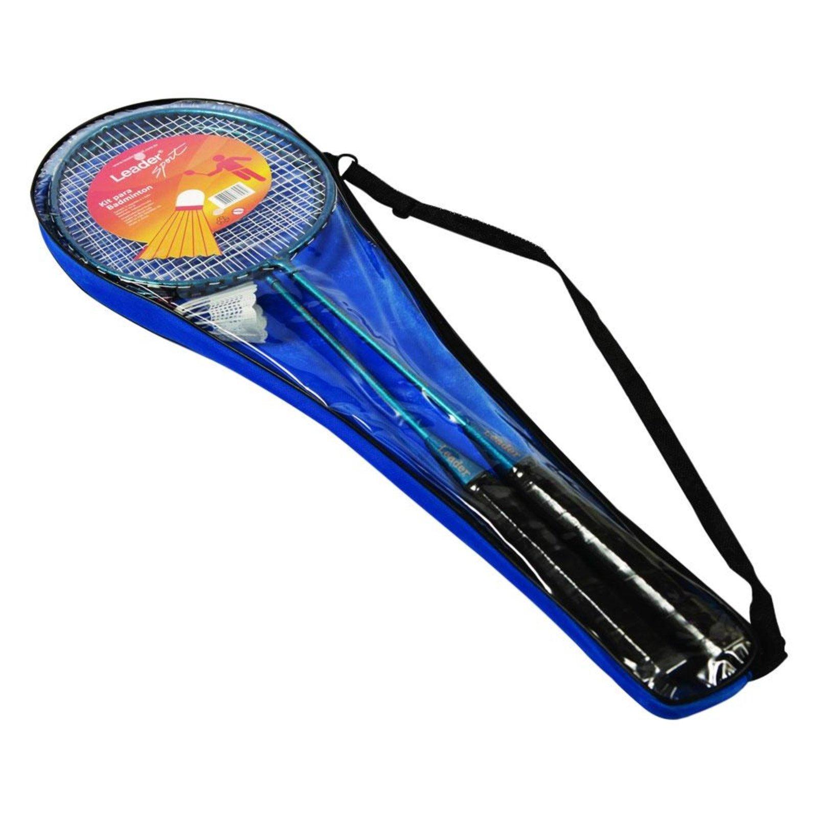 Badminton Kit Leader Leader LD258 Azul - Compre Agora