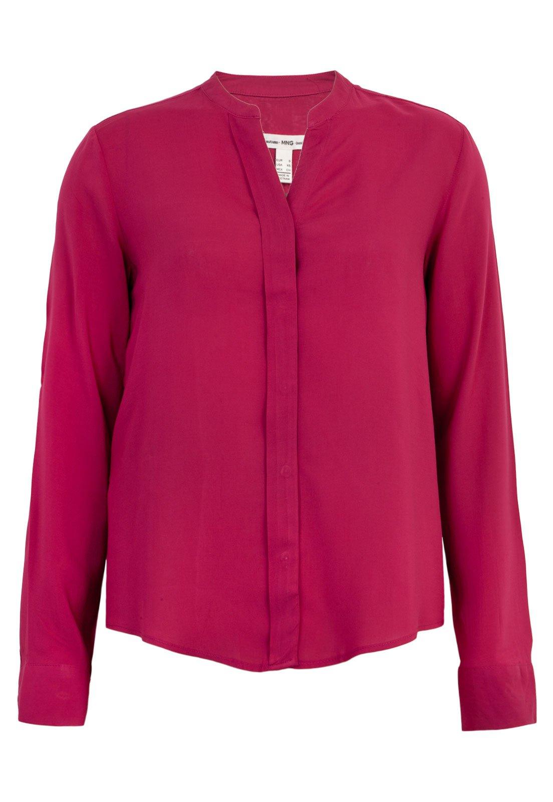 Camisa Mng Barcelona Rosa Compre Agora Dafiti Brasil