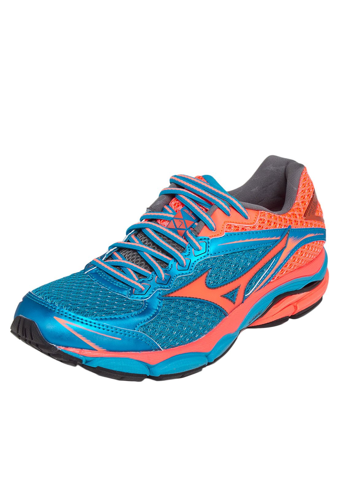 mizuno wave ultima 7 azul e laranja junior