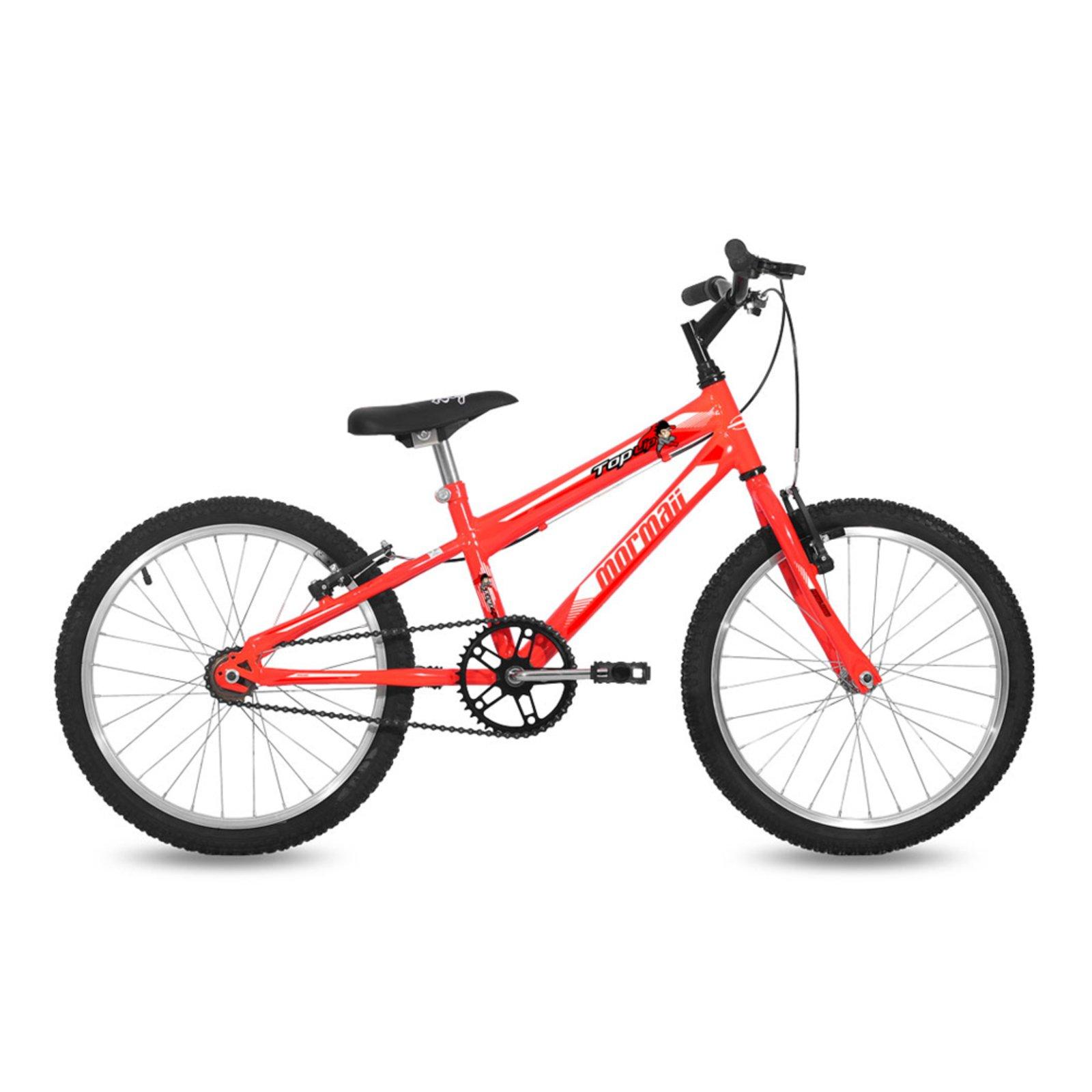 Bicicleta Mormaii Top Lip Aro 20 Rígida 1 Marcha - Laranja