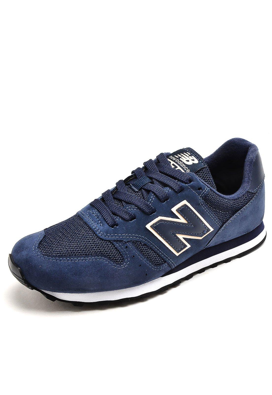 tenis new balance 373 azul marinho