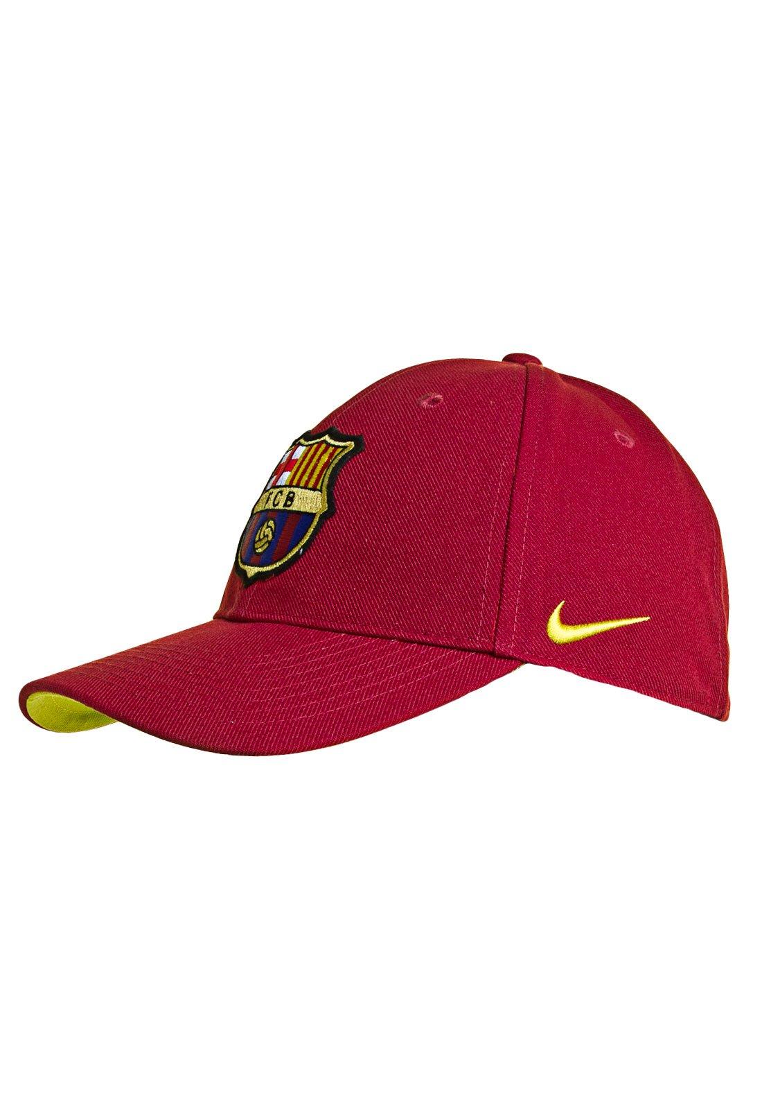 Elegante marca equipo  Boné Nike Barcelona Vermelho - Compre Agora | Kanui Brasil