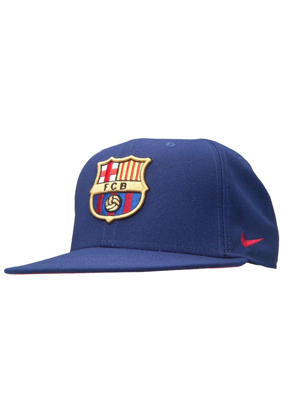 ingresos Interacción empujoncito  Boné Nike Fc Barcelona Core Azul - Compre Agora | Kanui Brasil