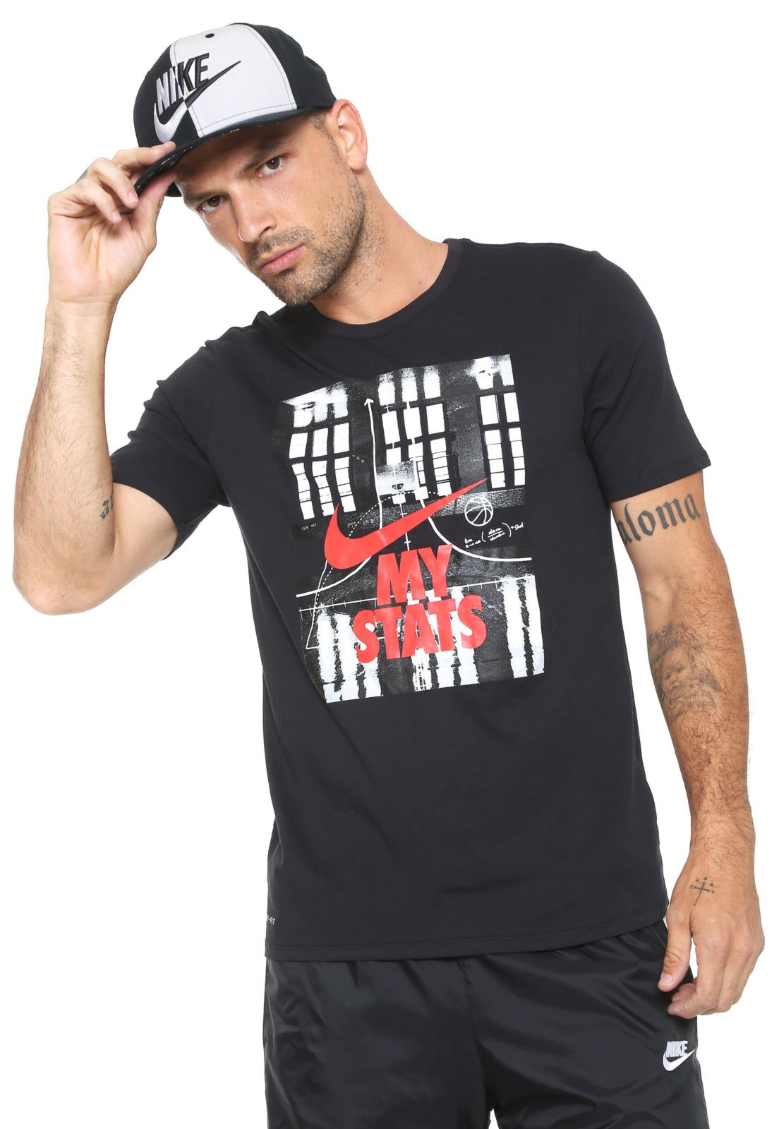 Nuevo significado Absurdo A veces a veces  Camiseta Nike Estampada Preto - Compre Agora | Dafiti Brasil