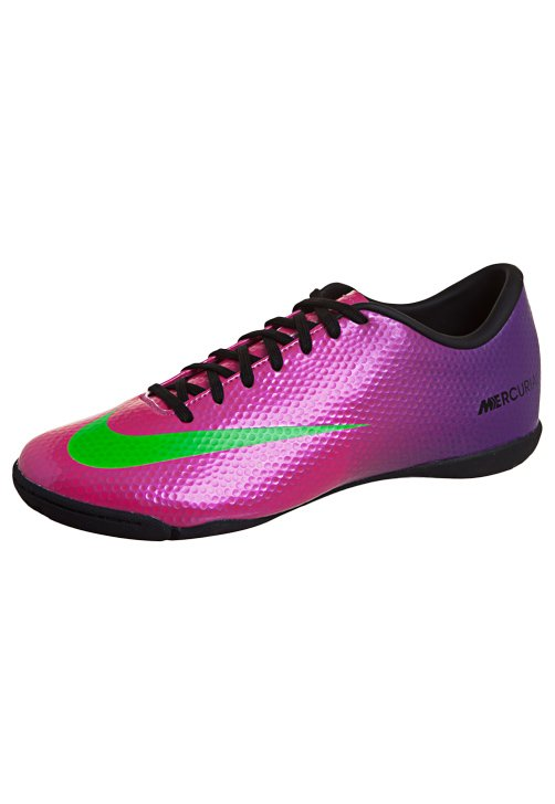 new collection lace up in casual shoes Chuteira Futsal Mercurial Victory IV IC Rosa