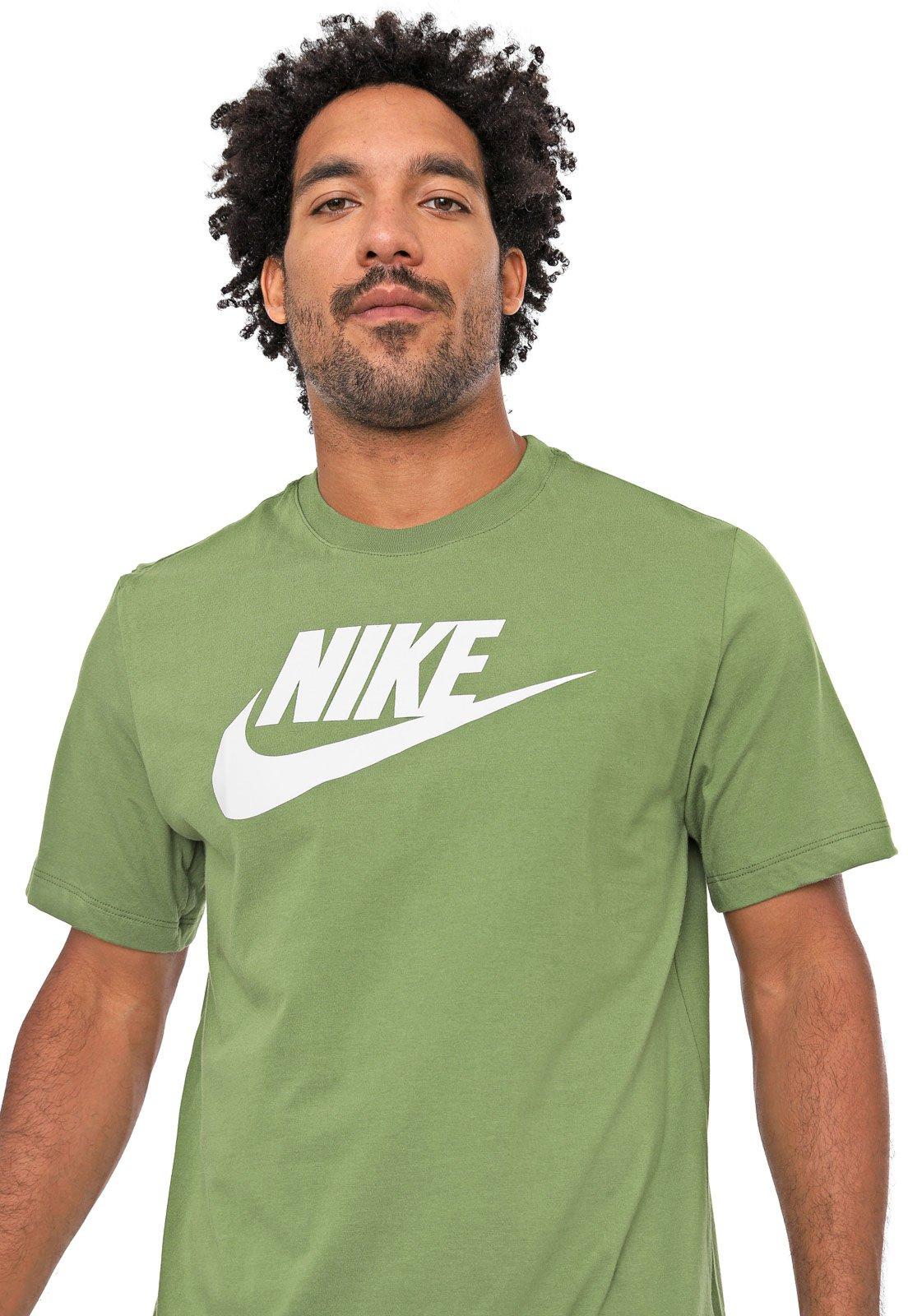 Saltar Exponer Jugar juegos de computadora  Camiseta Nike Sportswear M Nsw Tee Icon Futu Verde - Compre Agora   Dafiti  Brasil