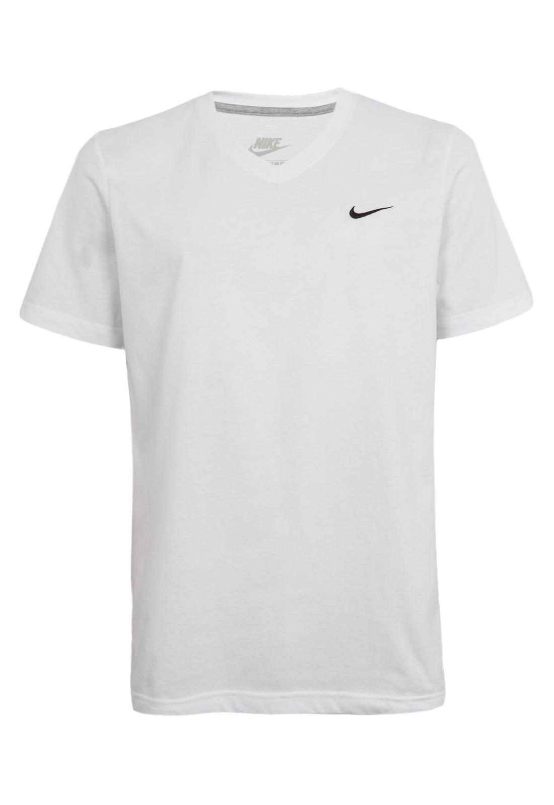 fragancia Remisión su  Camiseta Nike Sportswear Solid Futura Branca - Compre Agora | Dafiti Brasil